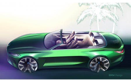 2021 BMW 4 Series Convertible Design Sketch Wallpapers  450x275 (158)