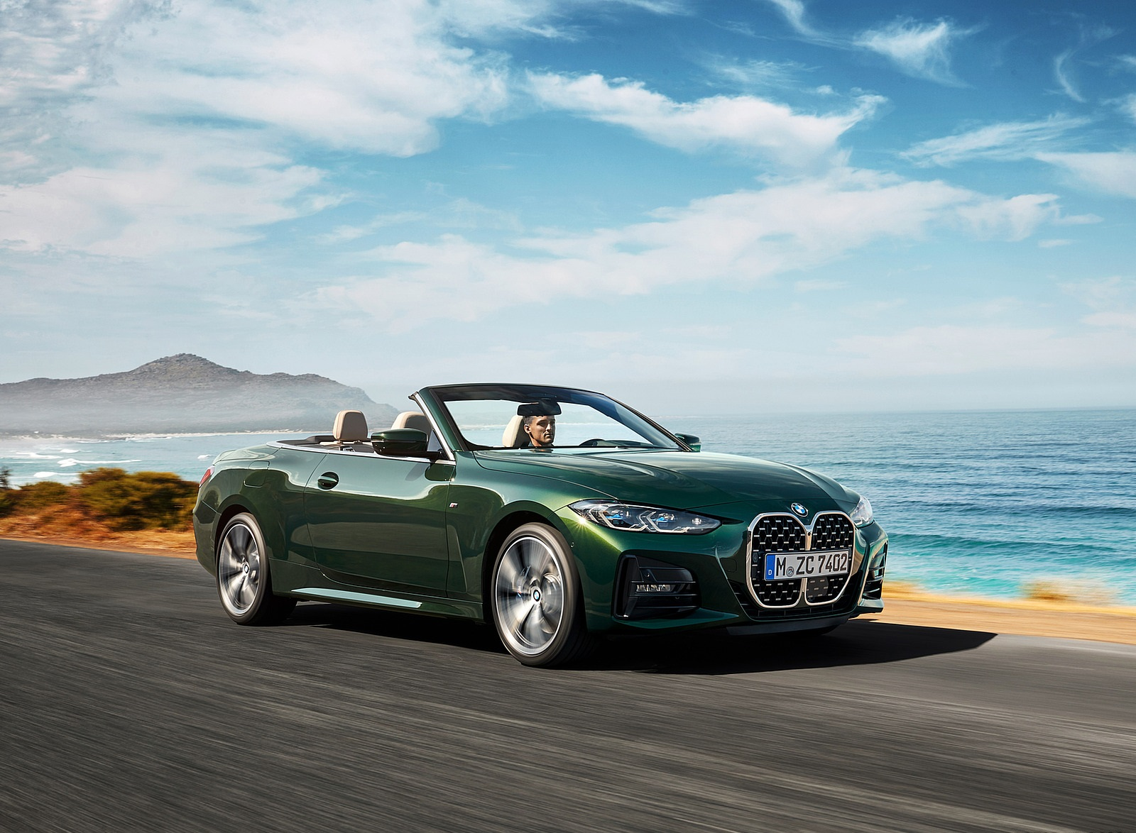 2021 BMW 4 Series Convertible Front Three-Quarter Wallpapers  (3)