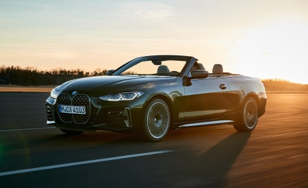 2021 BMW 4 Series Convertible Front Three-Quarter Wallpapers  450x275 (28)