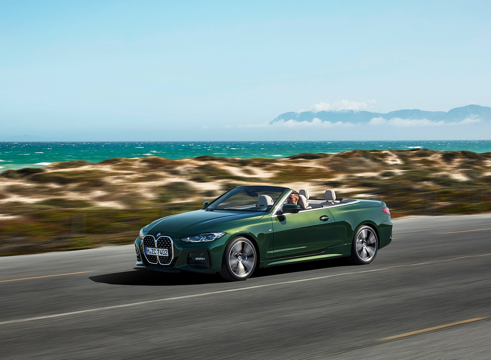 2021 BMW 4 Series Convertible Front Three-Quarter Wallpapers  (5)