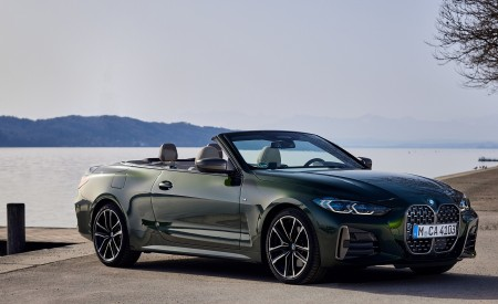 2021 BMW 4 Series Convertible Front Three-Quarter Wallpapers  450x275 (99)