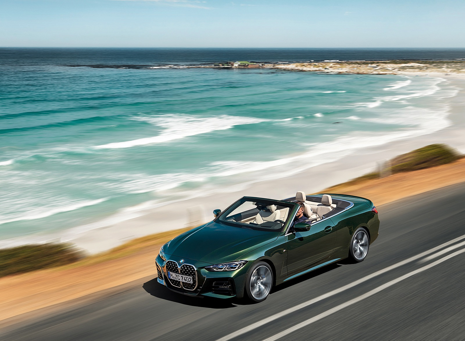 2021 BMW 4 Series Convertible Front Three-Quarter Wallpapers (7)