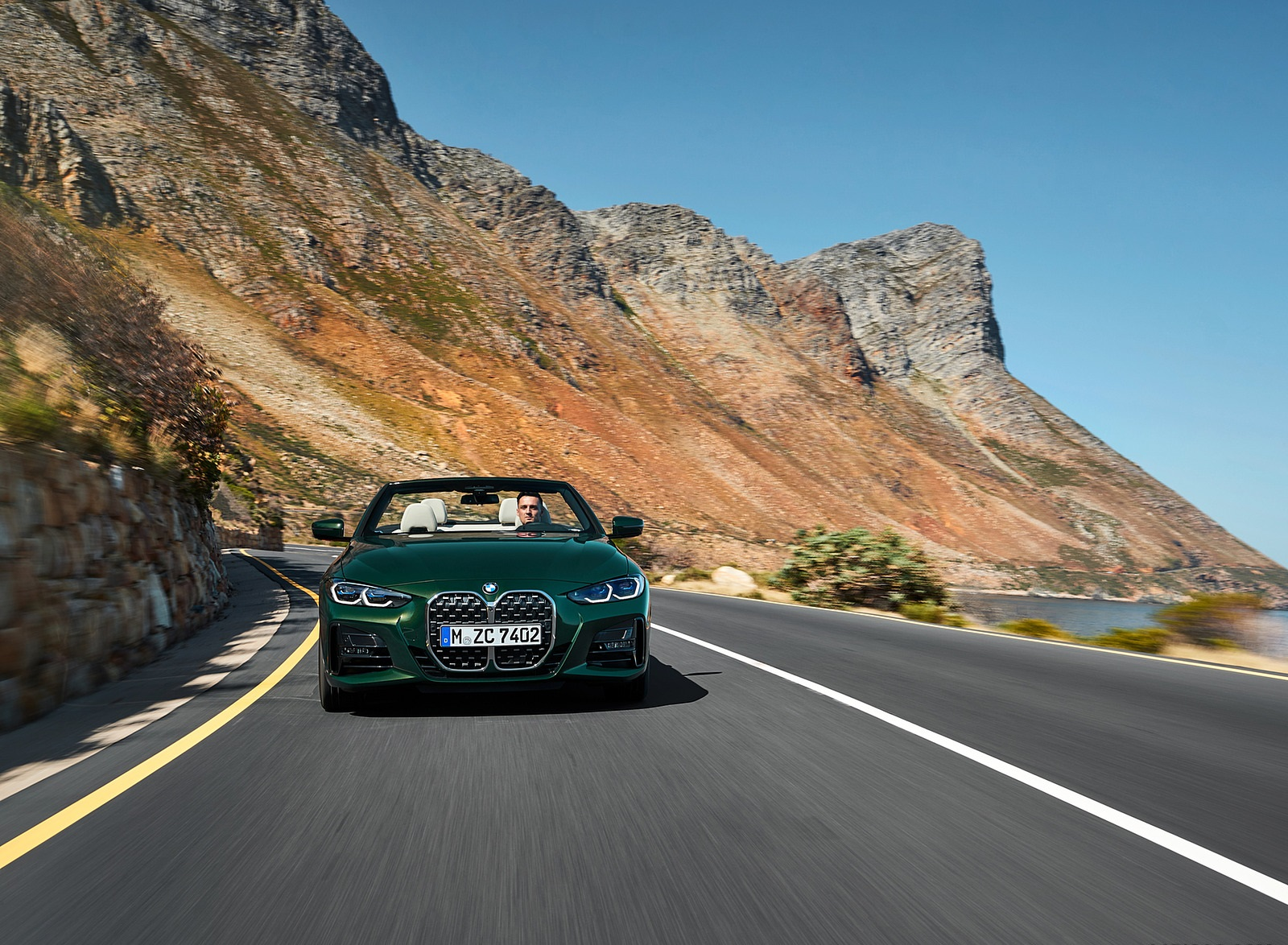 2021 BMW 4 Series Convertible Front Wallpapers (8)