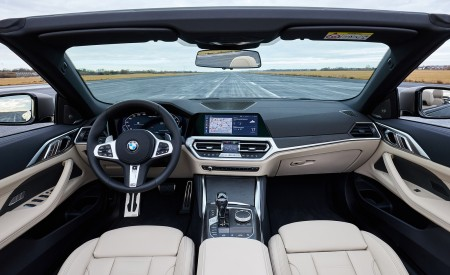 2021 BMW 4 Series Convertible Interior Cockpit Wallpapers 450x275 (142)