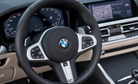 2021 BMW 4 Series Convertible Interior Steering Wheel Wallpapers 450x275 (136)