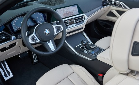 2021 BMW 4 Series Convertible Interior Wallpapers 450x275 (143)