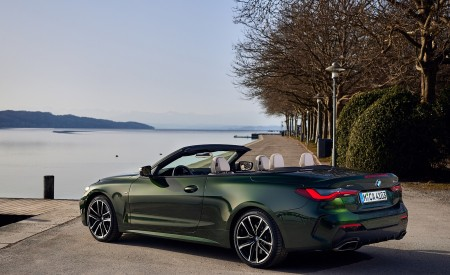 2021 BMW 4 Series Convertible Rear Three-Quarter Wallpapers  450x275 (102)
