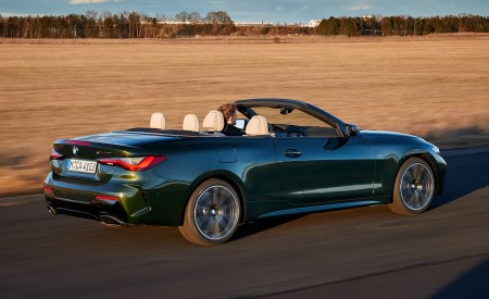 2021 BMW 4 Series Convertible Rear Three-Quarter Wallpapers  450x275 (30)