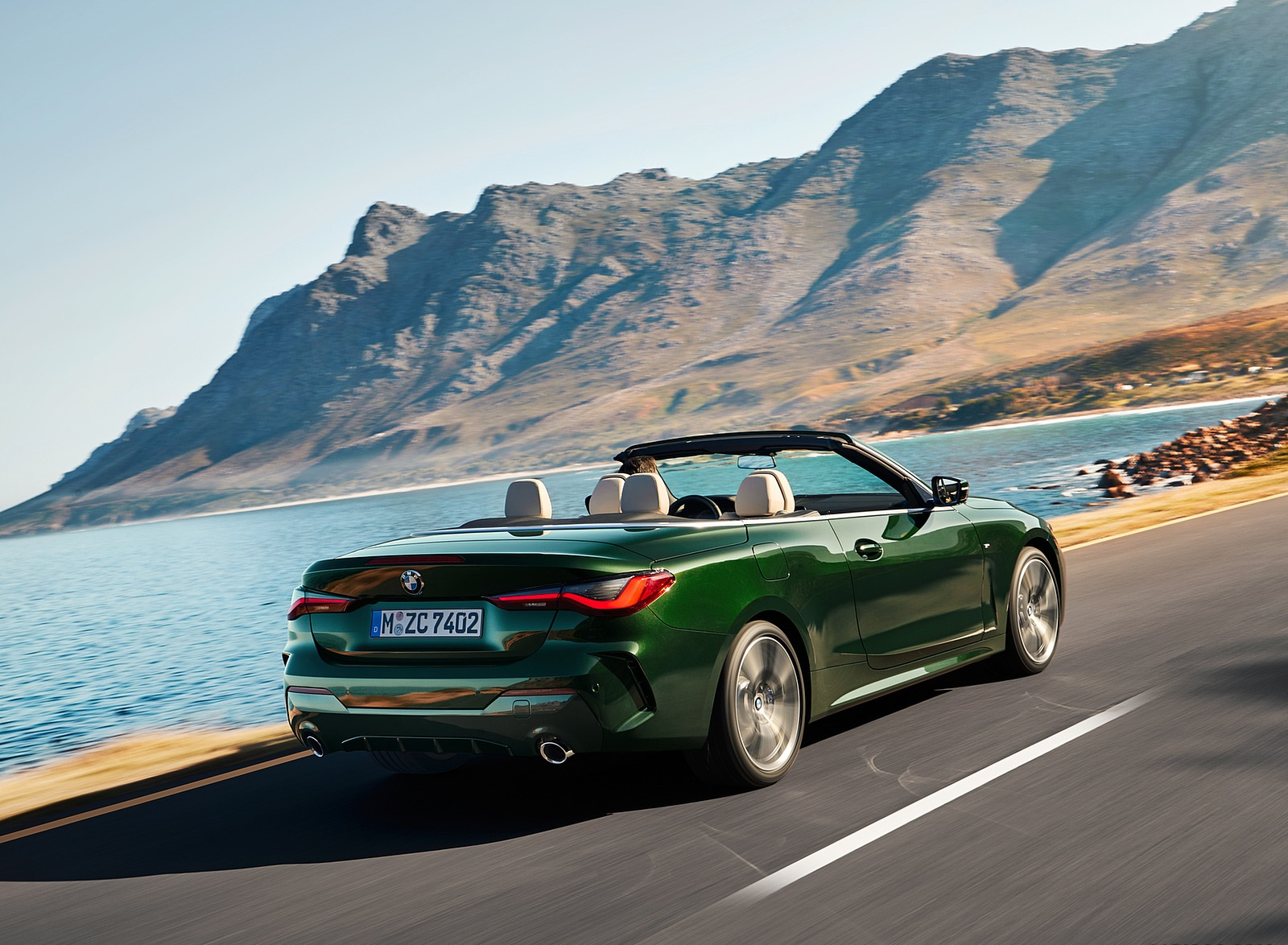 2021 BMW 4 Series Convertible Rear Three-Quarter Wallpapers  (4)