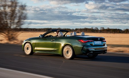 2021 BMW 4 Series Convertible Rear Three-Quarter Wallpapers  450x275 (31)