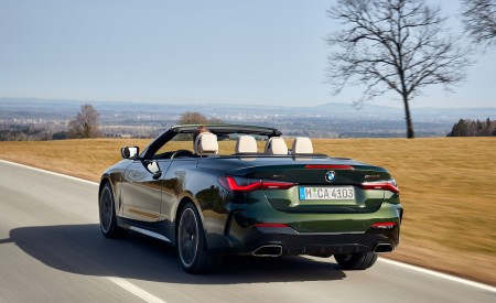 2021 BMW 4 Series Convertible Rear Three-Quarter Wallpapers  450x275 (55)