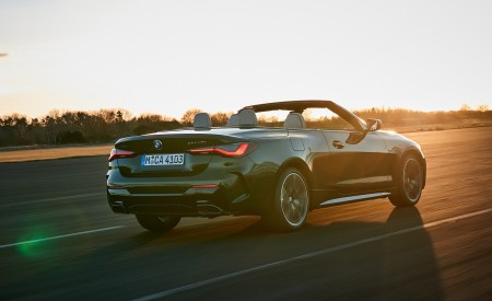 2021 BMW 4 Series Convertible Rear Three-Quarter Wallpapers  450x275 (32)