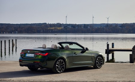 2021 BMW 4 Series Convertible Rear Three-Quarter Wallpapers 450x275 (104)