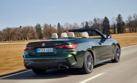 2021 BMW 4 Series Convertible Rear Three-Quarter Wallpapers  450x275 (56)