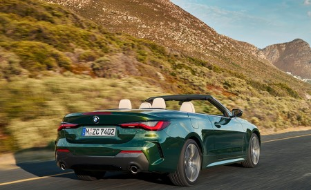 2021 BMW 4 Series Convertible Rear Three-Quarter Wallpapers 450x275 (9)