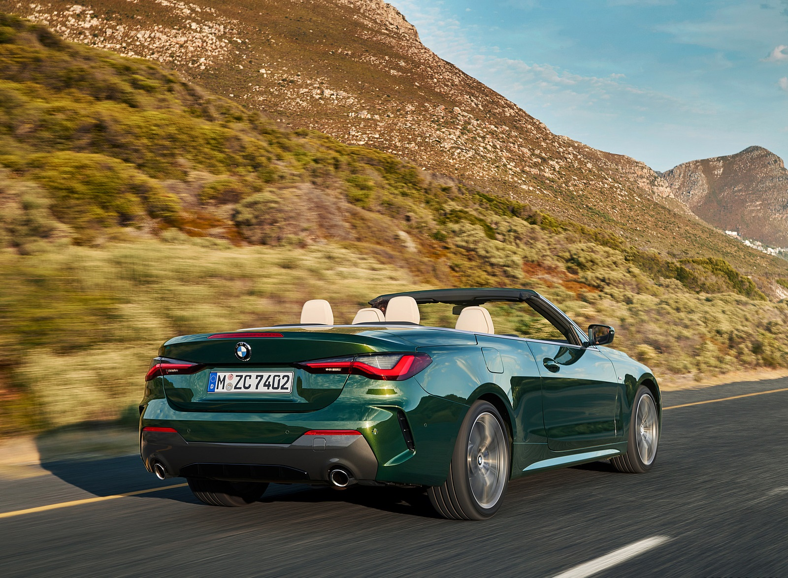 2021 BMW 4 Series Convertible Rear Three-Quarter Wallpapers (9)
