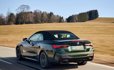 2021 BMW 4 Series Convertible Rear Three-Quarter Wallpapers 450x275 (57)