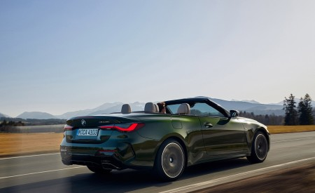 2021 BMW 4 Series Convertible Rear Three-Quarter Wallpapers 450x275 (44)