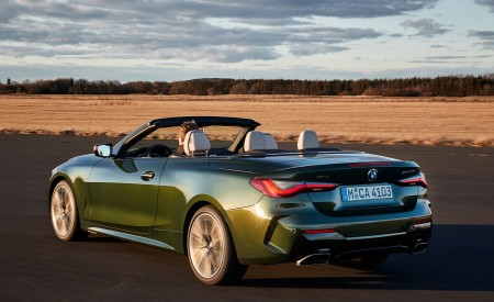 2021 BMW 4 Series Convertible Rear Three-Quarter Wallpapers 450x275 (33)