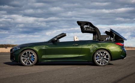 2021 BMW 4 Series Convertible Side Wallpapers  450x275 (119)