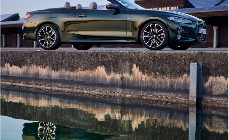 2021 BMW 4 Series Convertible Side Wallpapers  450x275 (105)