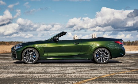 2021 BMW 4 Series Convertible Side Wallpapers 450x275 (113)