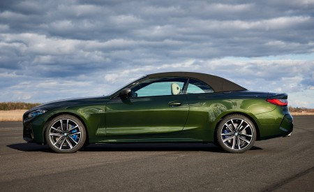 2021 BMW 4 Series Convertible Side Wallpapers  450x275 (114)