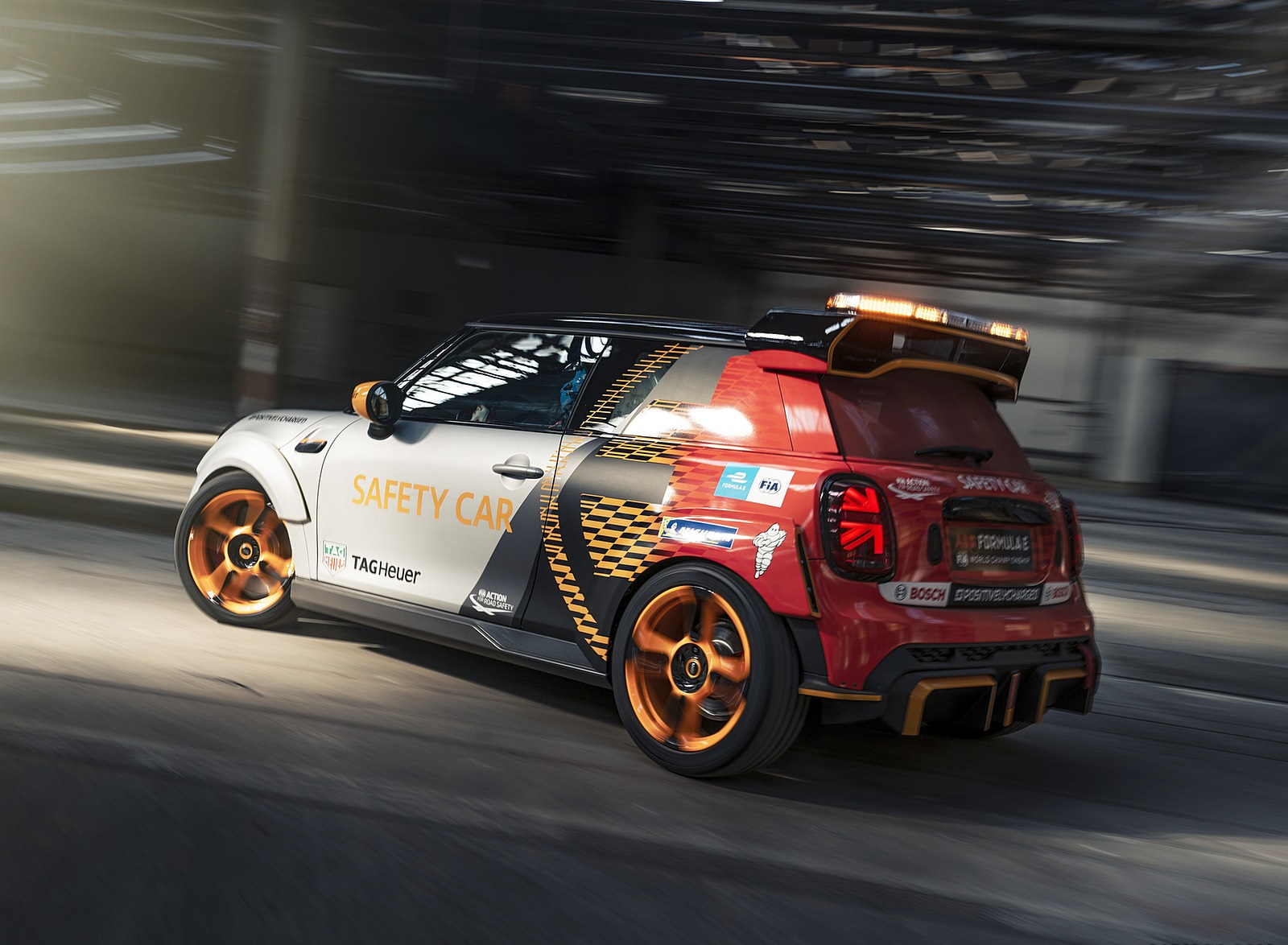 2021 MINI Electric Pacesetter Rear Three-Quarter Wallpapers  (4)