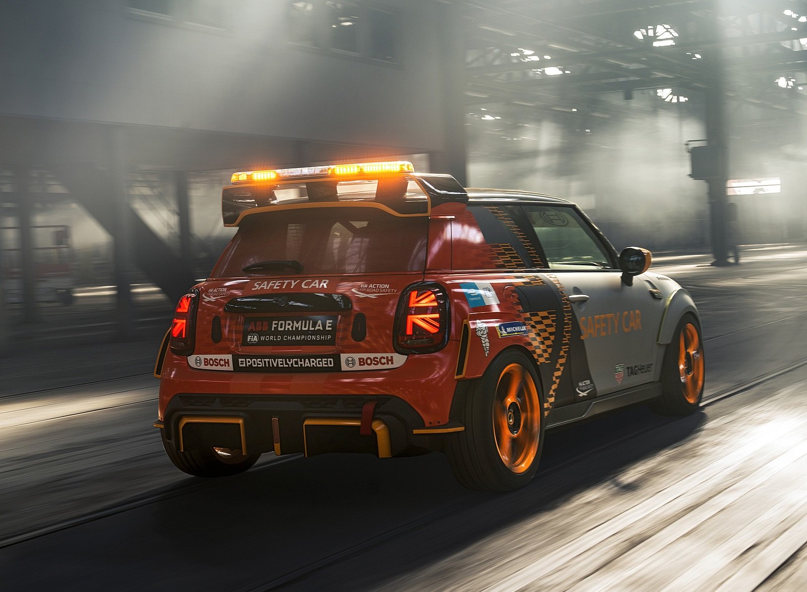 2021 MINI Electric Pacesetter Rear Three-Quarter Wallpapers (5)