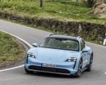 2022 Porsche Taycan 4S Cross Turismo (Color: Frozen Blue Metallic) Front Wallpapers 150x120 (43)