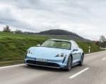 2022 Porsche Taycan 4S Cross Turismo (Color: Frozen Blue Metallic) Front Wallpapers 150x120 (50)