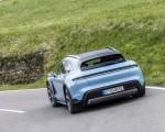 2022 Porsche Taycan 4S Cross Turismo (Color: Frozen Blue Metallic) Rear Wallpapers 150x120 (45)