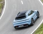 2022 Porsche Taycan 4S Cross Turismo (Color: Frozen Blue Metallic) Rear Wallpapers 150x120 (46)