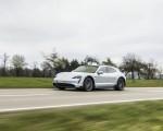 2022 Porsche Taycan 4S Cross Turismo (Color: Ice Grey Metallic) Front Three-Quarter Wallpapers 150x120 (6)