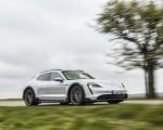 2022 Porsche Taycan 4S Cross Turismo (Color: Ice Grey Metallic) Front Three-Quarter Wallpapers 150x120 (7)
