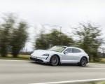 2022 Porsche Taycan 4S Cross Turismo (Color: Ice Grey Metallic) Front Three-Quarter Wallpapers 150x120 (9)