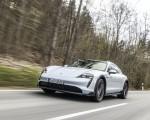 2022 Porsche Taycan 4S Cross Turismo (Color: Ice Grey Metallic) Front Wallpapers 150x120 (2)