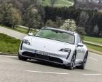2022 Porsche Taycan 4S Cross Turismo (Color: Ice Grey Metallic) Front Wallpapers 150x120 (11)