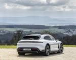 2022 Porsche Taycan 4S Cross Turismo (Color: Ice Grey Metallic) Rear Three-Quarter Wallpapers 150x120 (19)
