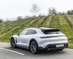 2022 Porsche Taycan 4S Cross Turismo (Color: Ice Grey Metallic) Rear Three-Quarter Wallpapers 150x120 (4)