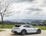 2022 Porsche Taycan 4S Cross Turismo (Color: Ice Grey Metallic) Rear Three-Quarter Wallpapers 150x120 (20)