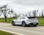 2022 Porsche Taycan 4S Cross Turismo (Color: Ice Grey Metallic) Rear Three-Quarter Wallpapers 150x120 (13)