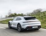 2022 Porsche Taycan 4S Cross Turismo (Color: Ice Grey Metallic) Rear Three-Quarter Wallpapers 150x120 (14)