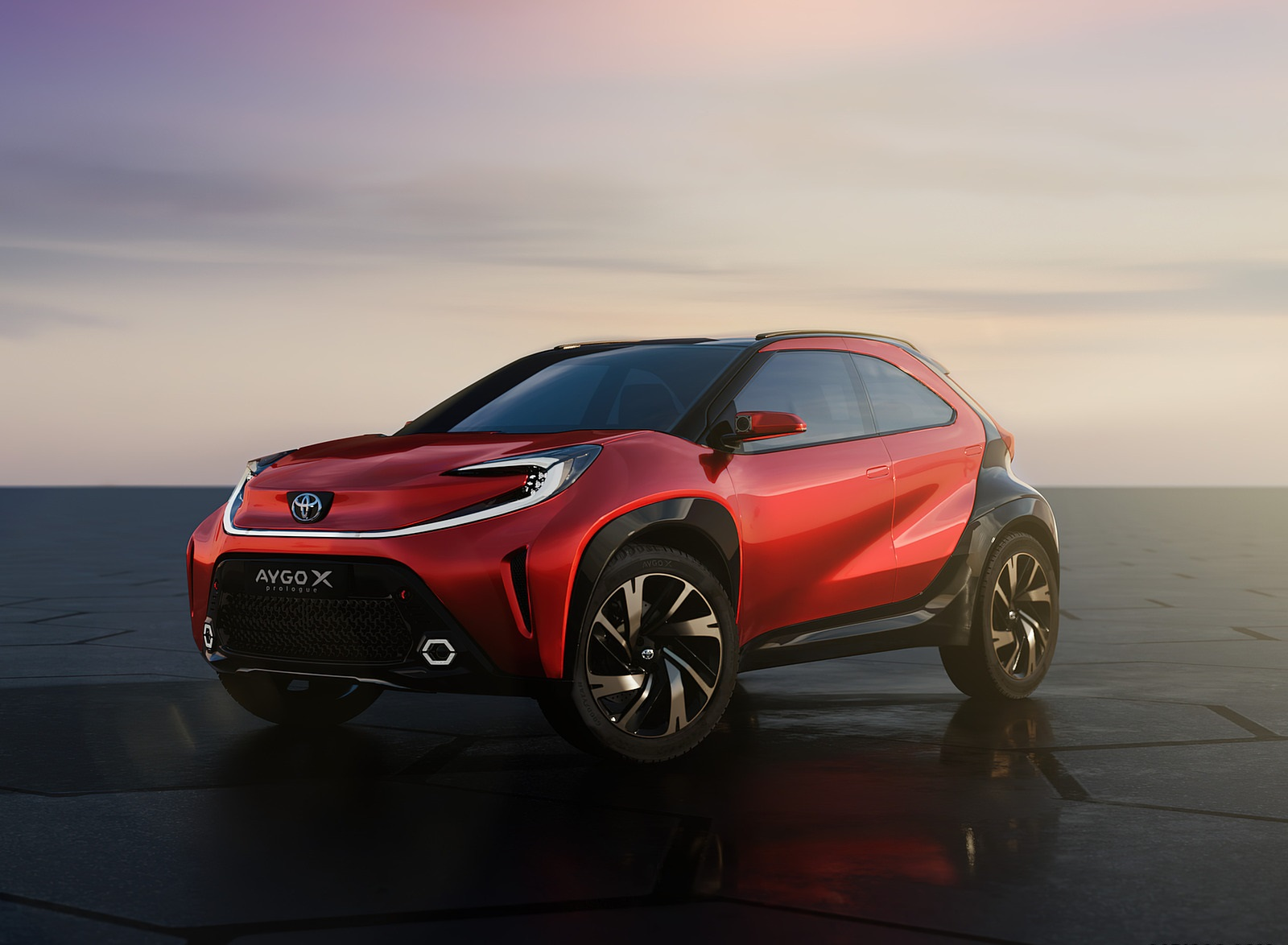 2021 Toyota Aygo X Prologue Concept Front Three-Quarter Wallpapers (8)