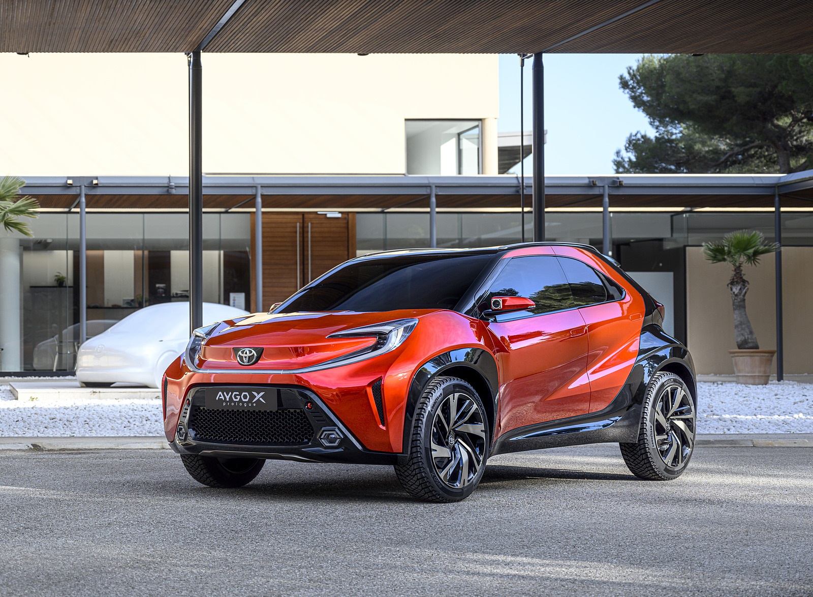 2021 Toyota Aygo X Prologue Concept Front Three-Quarter Wallpapers (1)