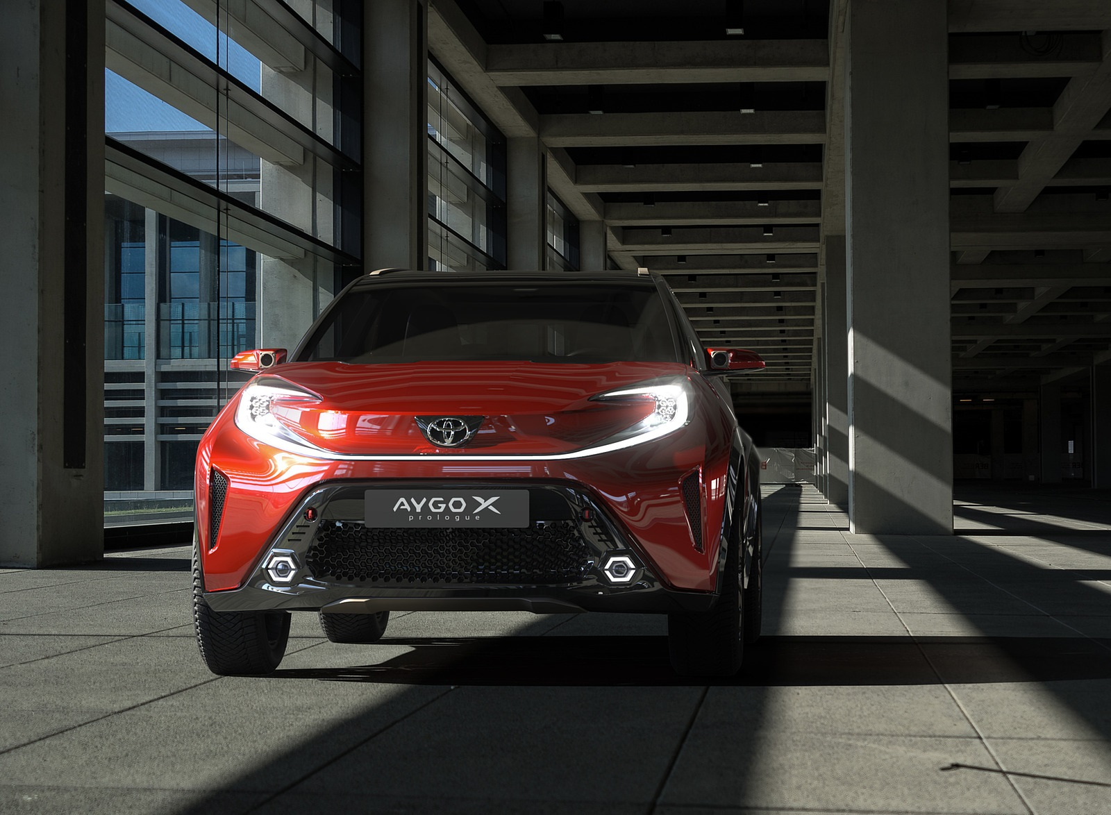 2021 Toyota Aygo X Prologue Concept Front Wallpapers  (3)