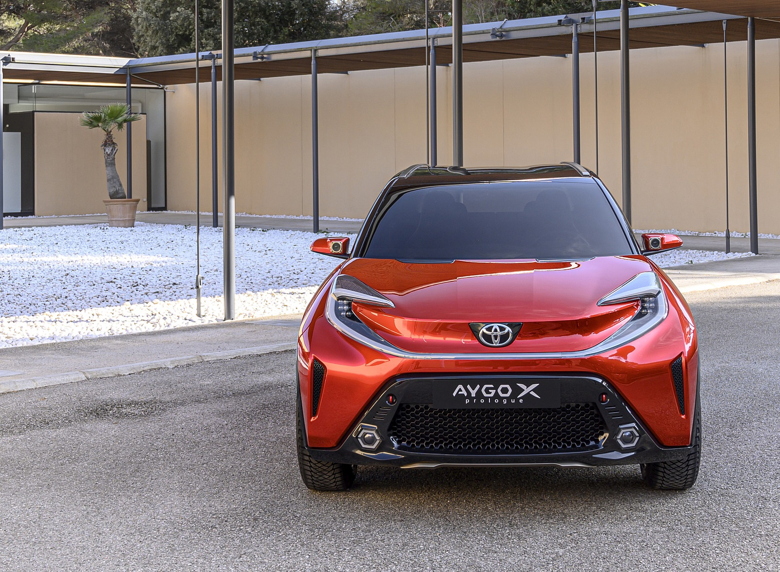 2021 Toyota Aygo X Prologue Concept Front Wallpapers (4)
