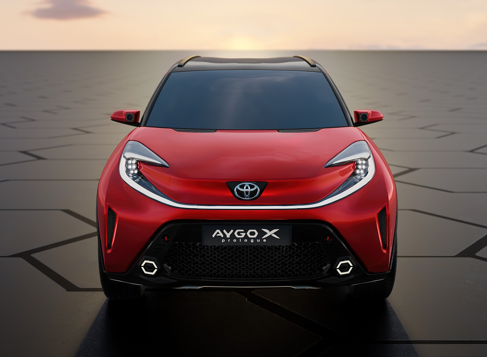 2021 Toyota Aygo X Prologue Concept Front Wallpapers (9)