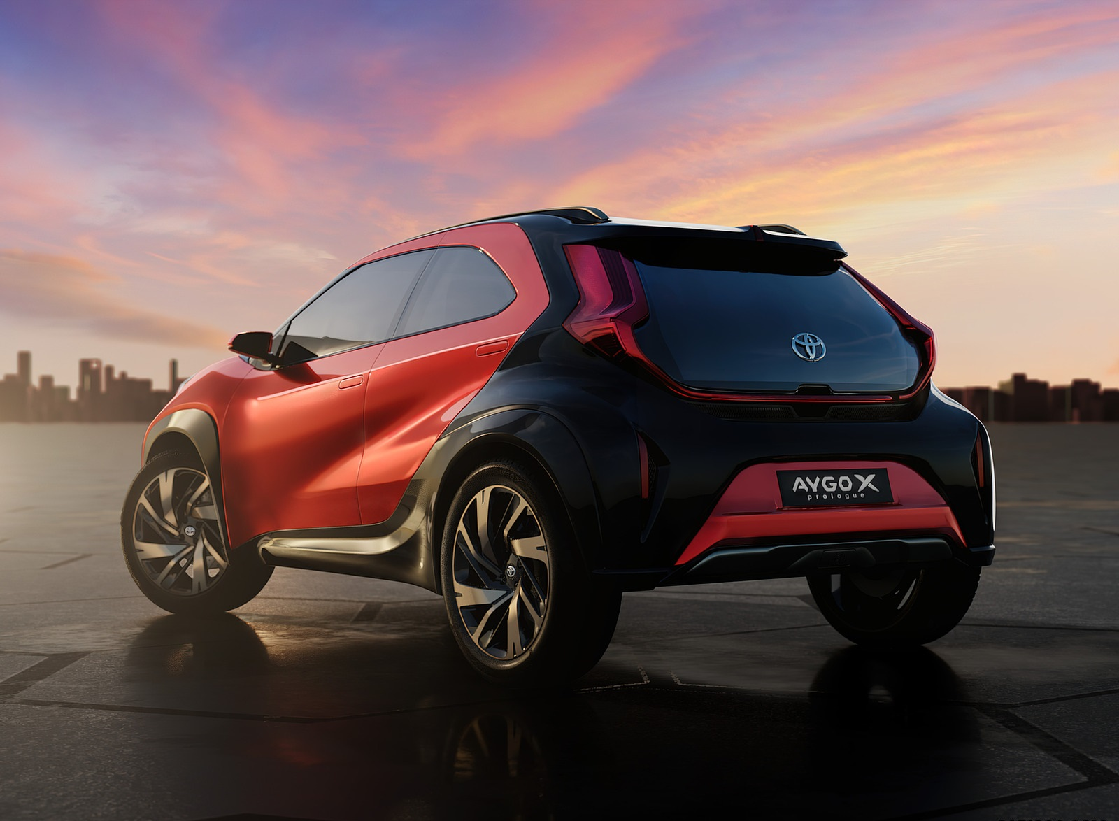 2021 Toyota Aygo X Prologue Concept Rear Three-Quarter Wallpapers (10)