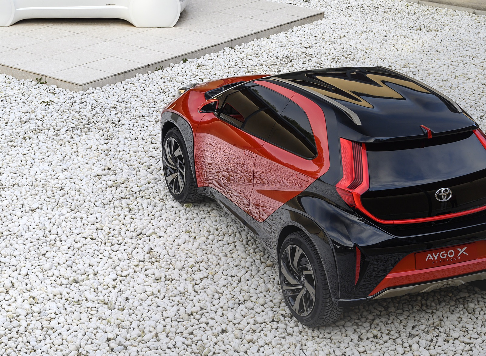2021 Toyota Aygo X Prologue Concept Rear Three-Quarter Wallpapers (5)